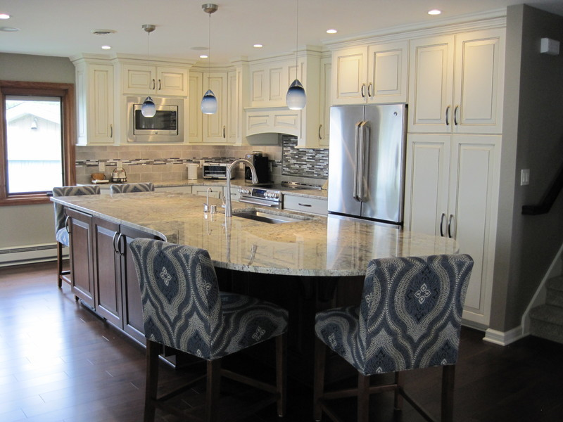 New Kitchen In Muskego, Cabinets Provided By Louis Anthony Custom Cabinetry  Of Milwaukee